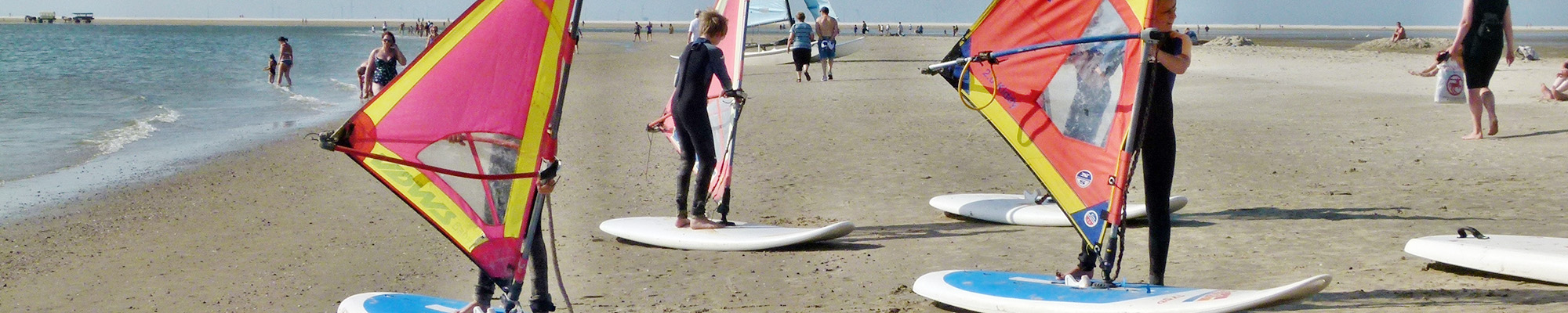 Windsurfen in Dornumersiel